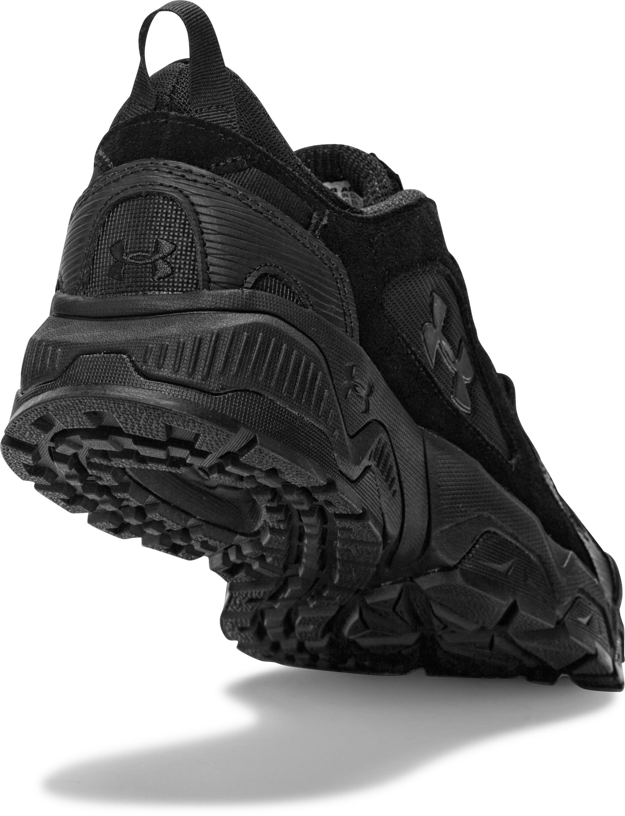 Men's UA Chetco 2.0 Tactical Running Shoes, Black , undefined