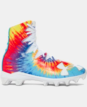 New Arrival Boys' UA Highlight RM Jr. Lacrosse Cleats – Limited Edition   $59.99