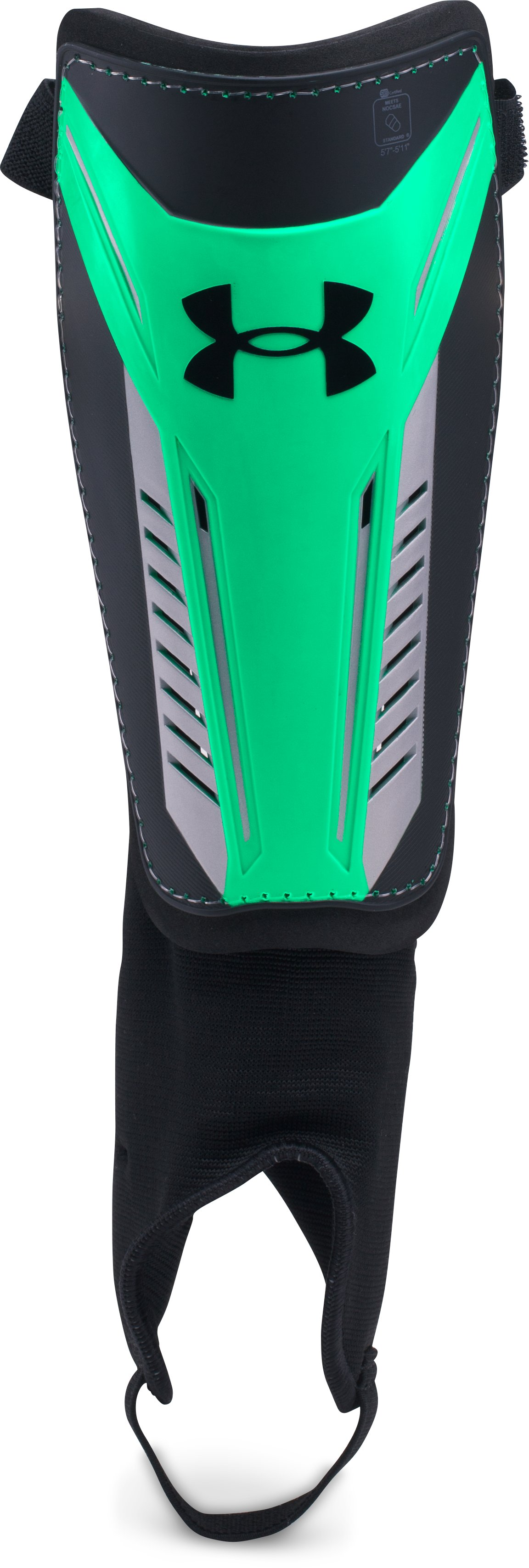 Men's UA Challenge Shin Guards 2.0, Black , undefined