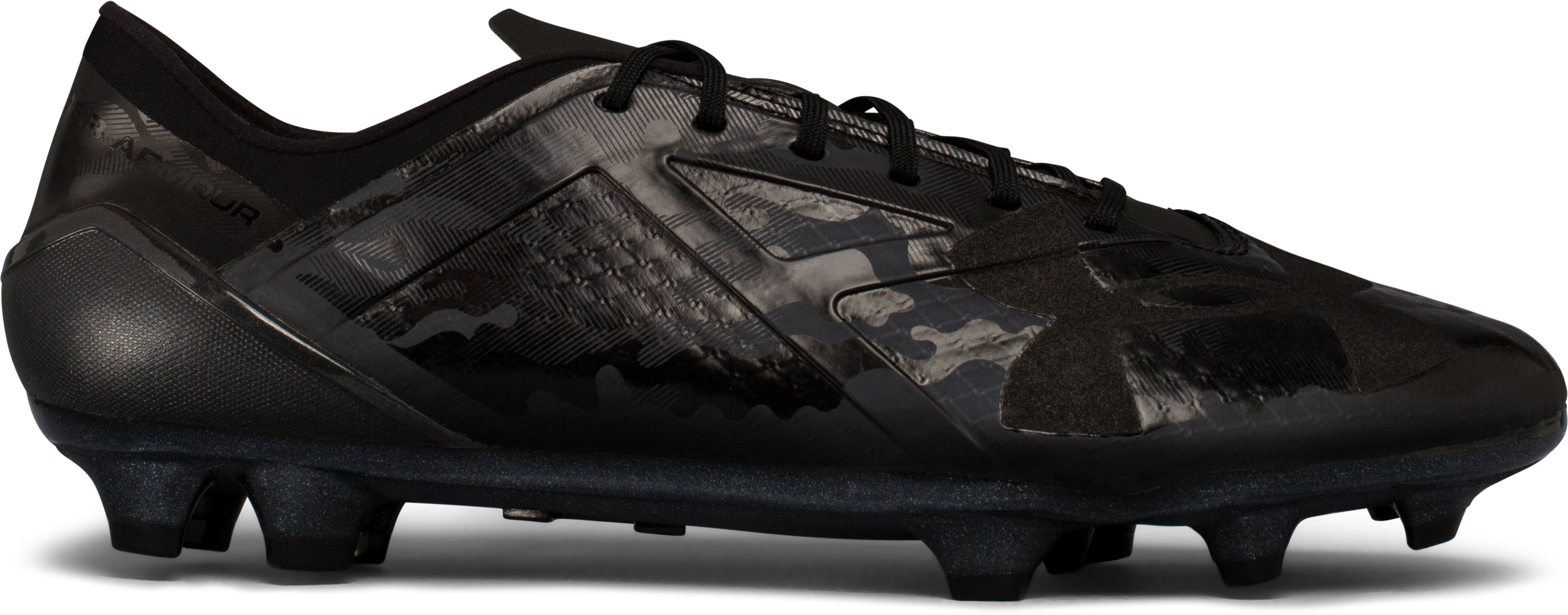 Men's UA Spotlight FG — Limited Edition Soccer Cleats, Black