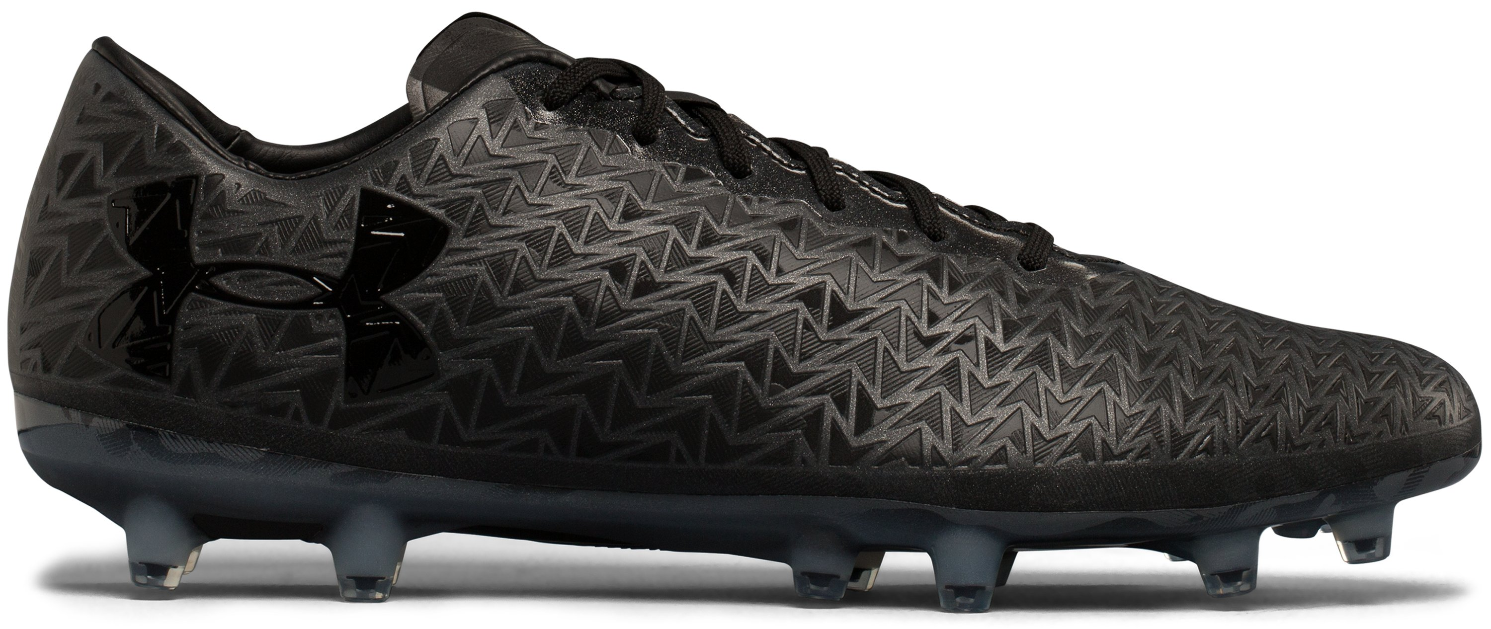 Men's UA ClutchFit® Force 3.0 Firm Ground — Limited Edition Soccer Cleats, Black , undefined