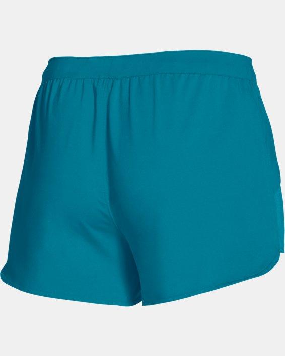 Women's UA Game Time Shorts, Green, pdpMainDesktop image number 7