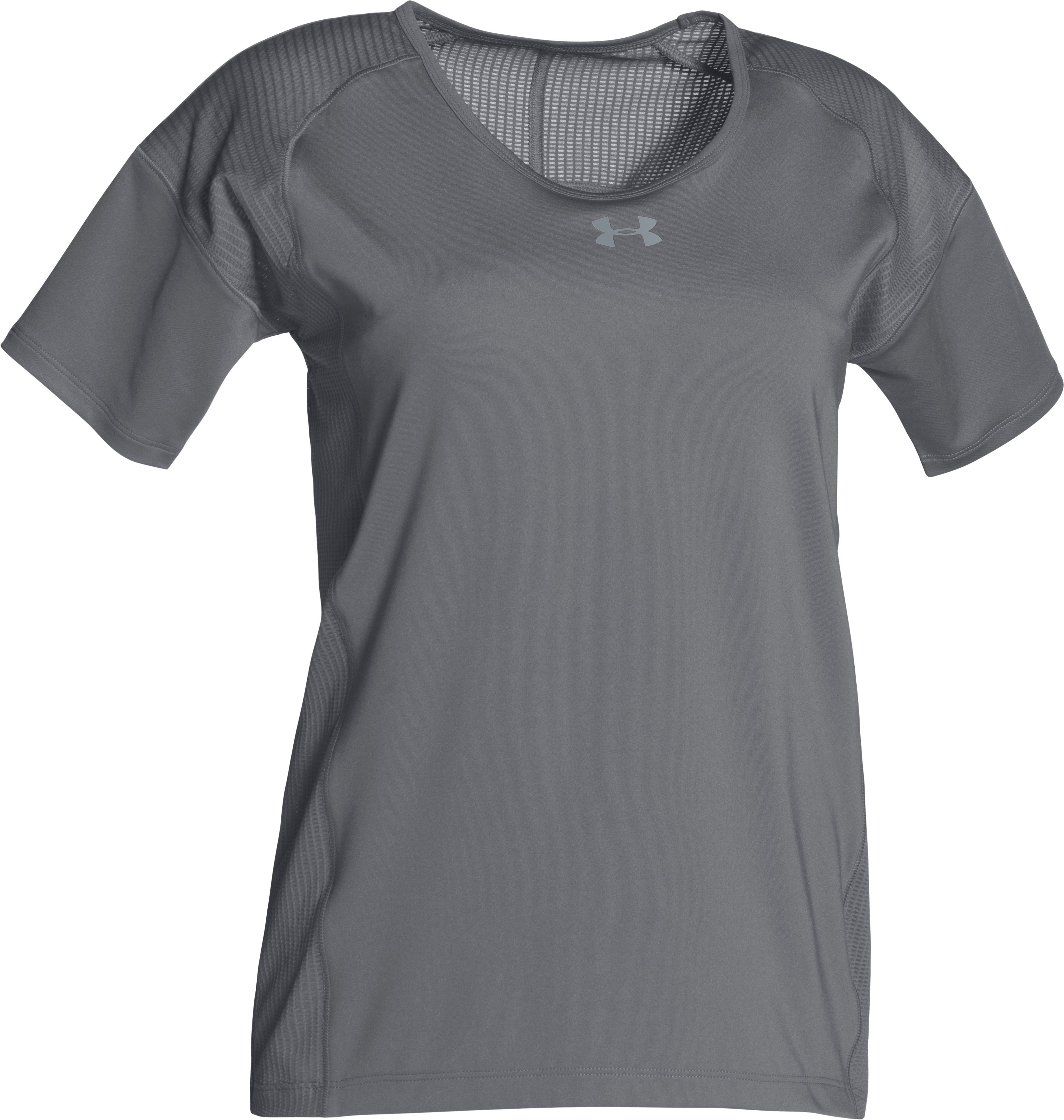 Women's UA Game Time T-Shirt, Graphite,