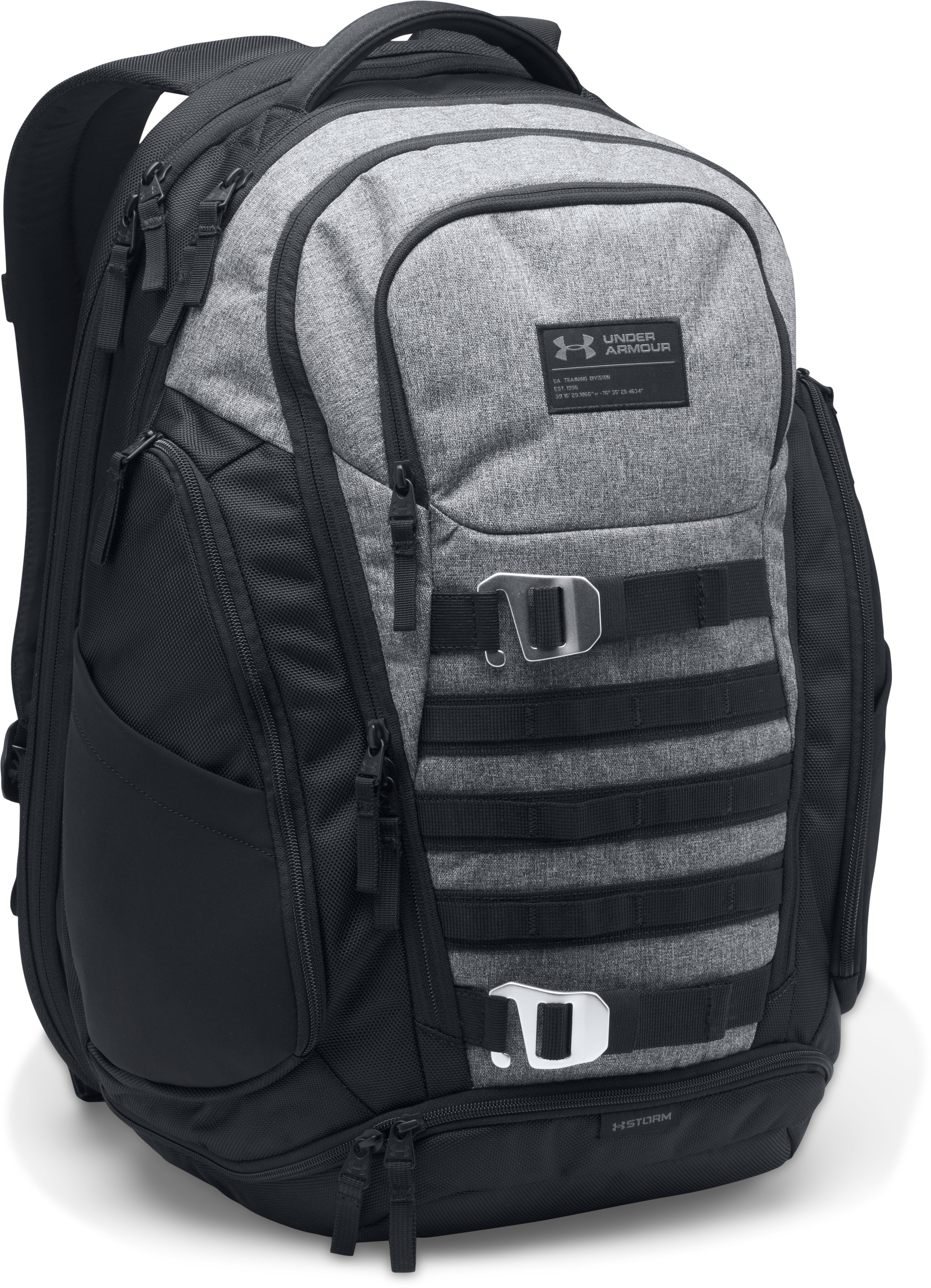 Men's UA Huey Backpack, Graphite,