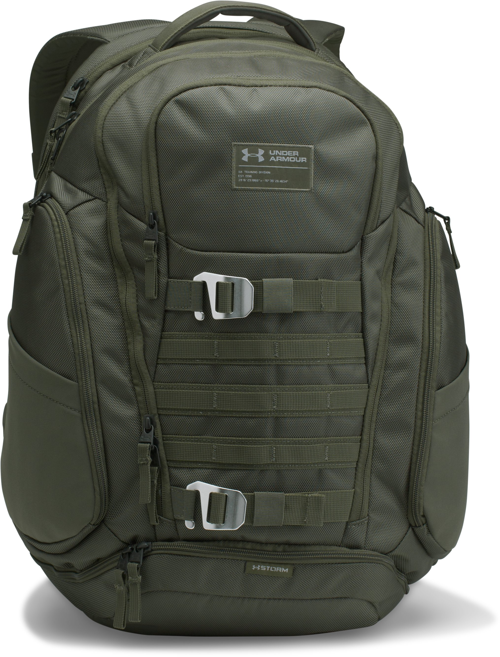 Men's UA Huey Backpack, DOWNTOWN GREEN