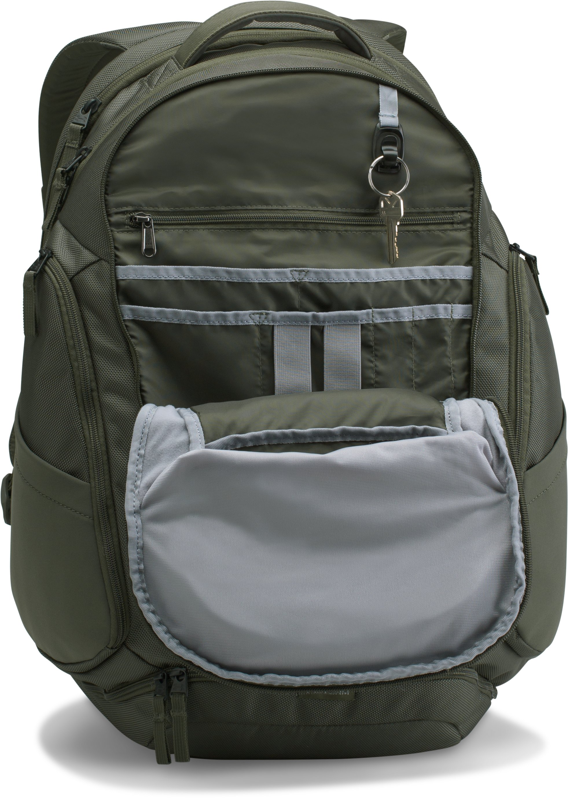 Men's UA Huey Backpack, DOWNTOWN GREEN,