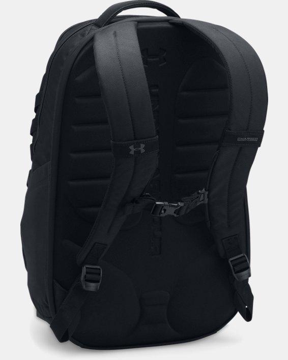 Men's UA Hudson Backpack, Black, pdpMainDesktop image number 2