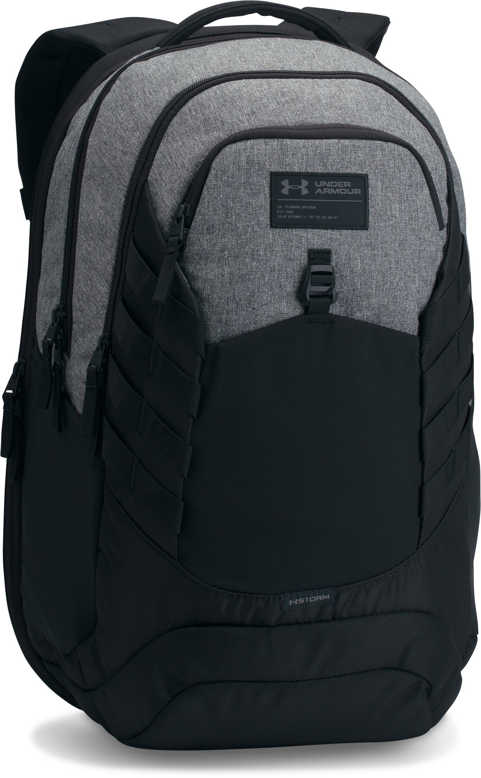 Men's UA Hudson Backpack, Graphite, undefined