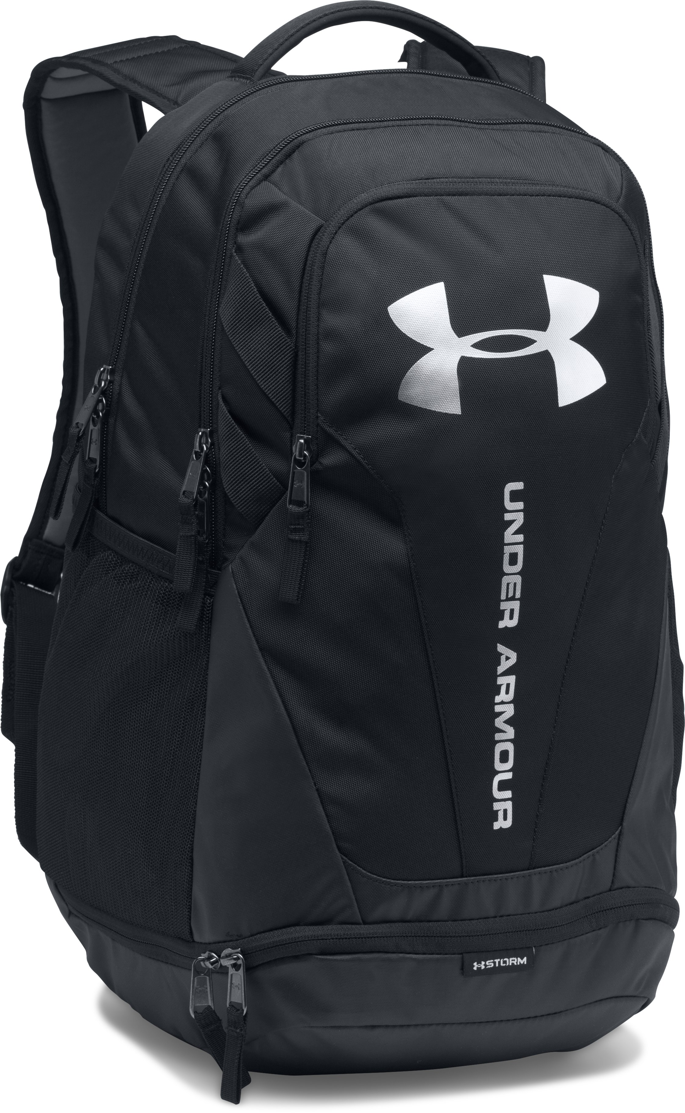 UA Hustle 3.0 Backpack, Black