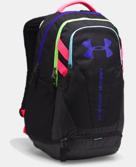 Best Seller  Men's UA Hustle 3.0 Backpack  6  Colors Available $32.5 to $38.99