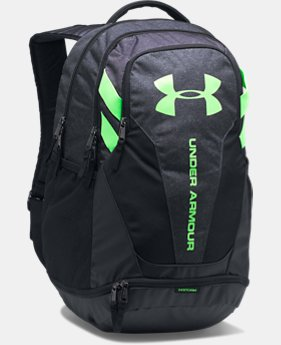 Best Seller Men's UA Hustle 3.0 Backpack  4 Colors $54.99