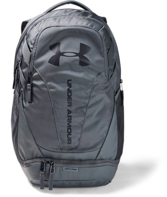 NWT Under Armour UA Hustle 4.0 Gray Backpack $60
