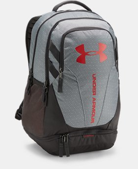 Best Seller UA Hustle 3.0 Backpack FREE U.S. SHIPPING 3  Colors Available $54.99