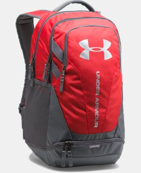 Best Seller UA Hustle 3.0 Backpack FREE U.S. SHIPPING 2  Colors Available $54.99