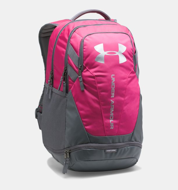 UA Hustle 3.0 Backpack, Tropic Pink, , Tropic Pink, Click to view full size