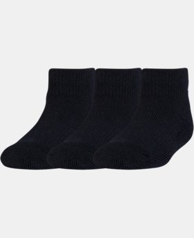 Kids' Toddler UA Low Cut Socks – 3 Pack  1 Color $8.99