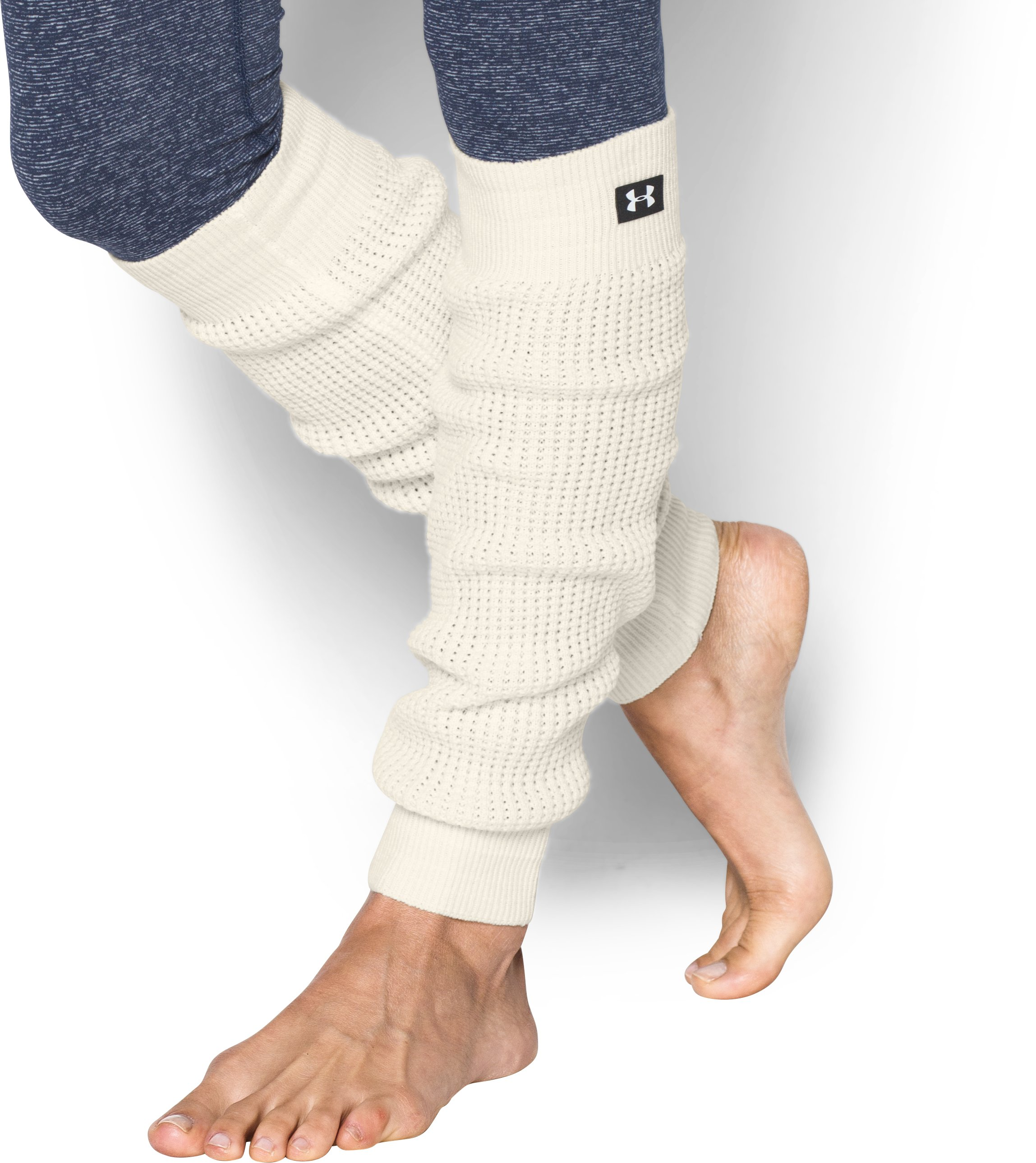 Women's UA Favorite Leg Warmers, Ivory
