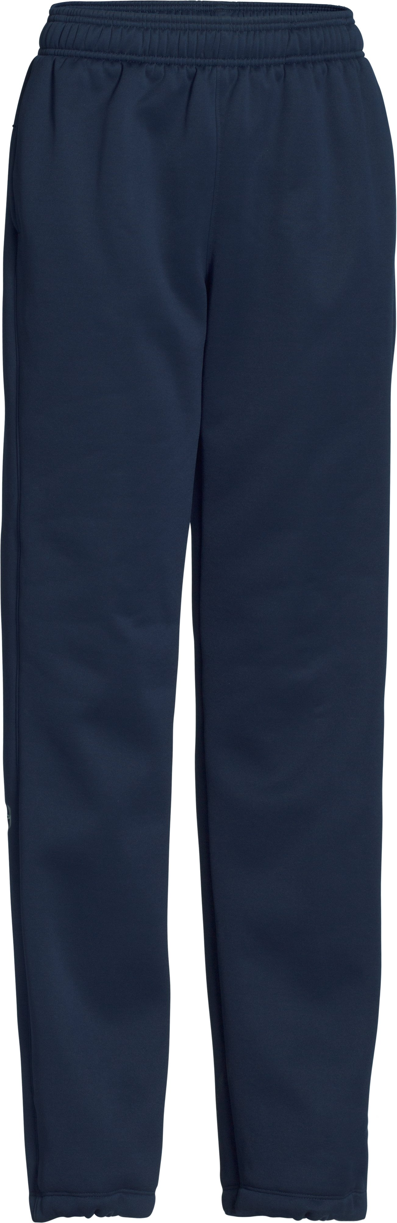Women's  UA Double Threat Armour Fleece® Pants, Midnight Navy, undefined