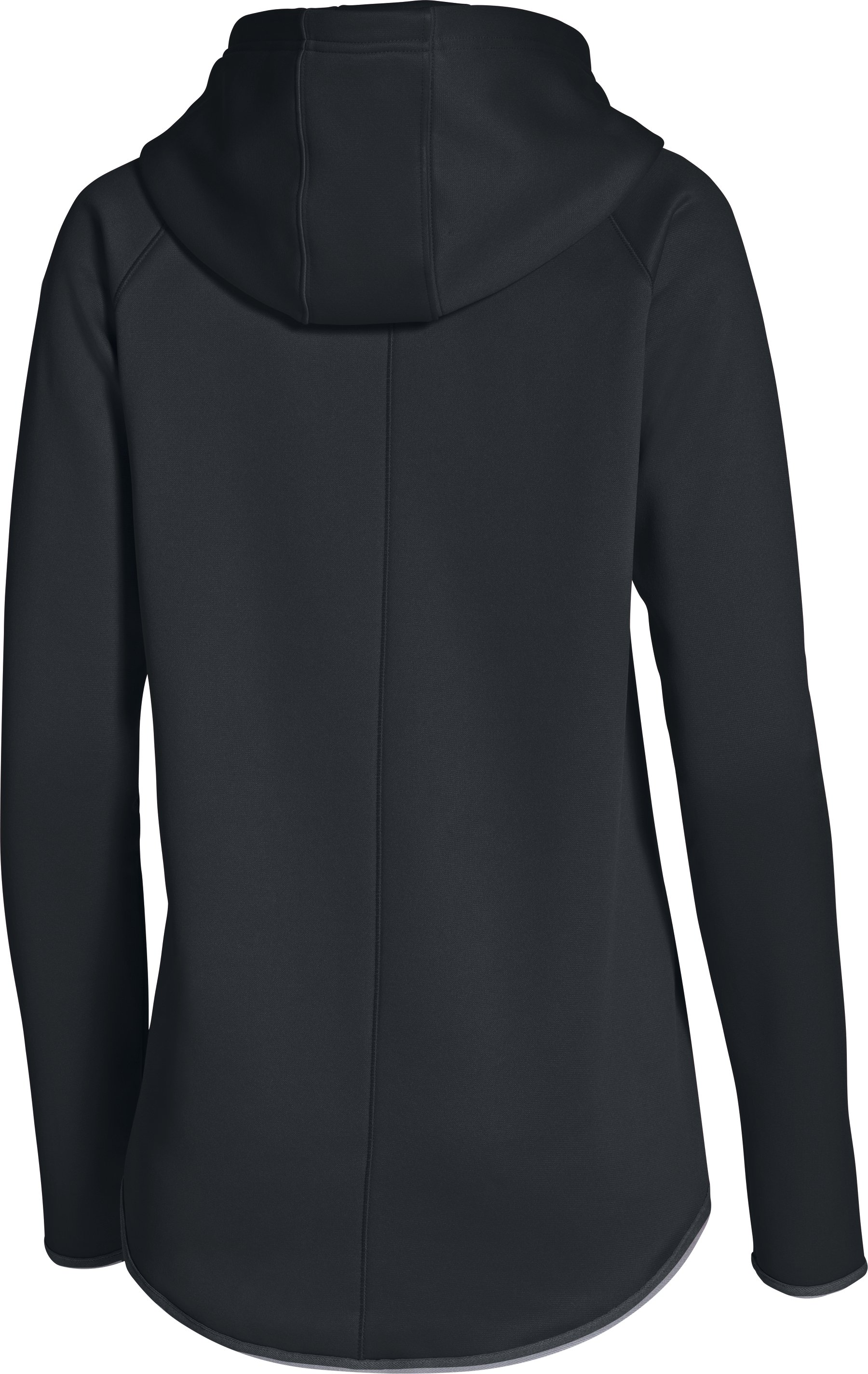 Women's  UA Double Threat Armour Fleece® Hoodie, Black , undefined