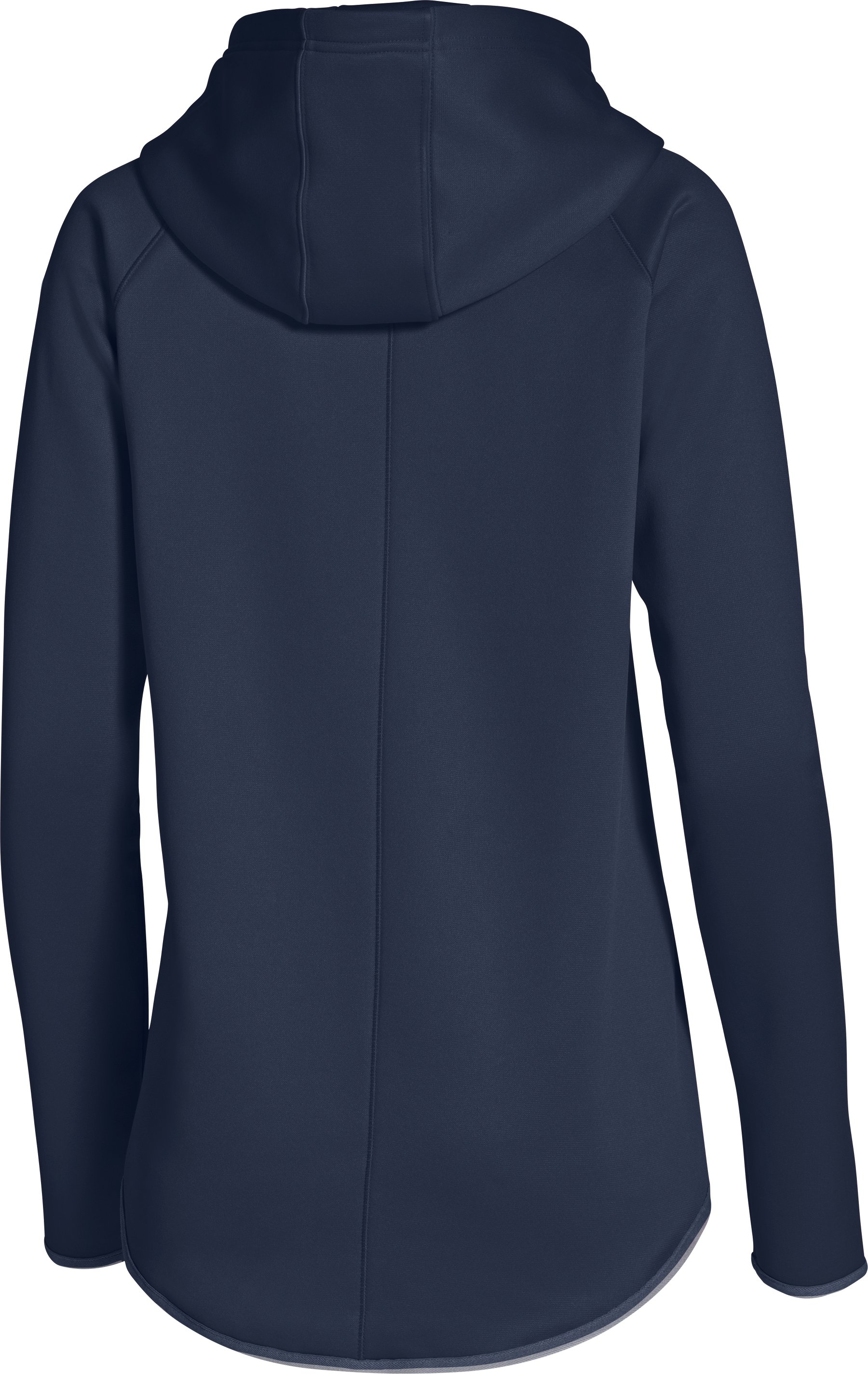Women's  UA Double Threat Armour Fleece® Hoodie, Midnight Navy, undefined