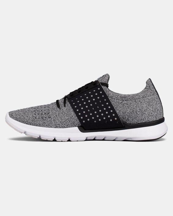 Men's UA Threadborne Slingwrap Running Shoes, Black, pdpMainDesktop image number 1