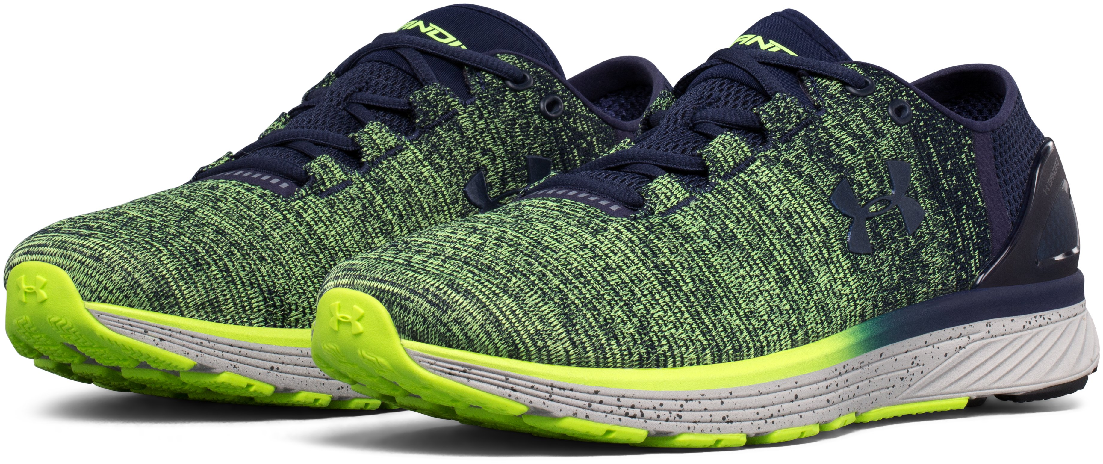 Men's UA Charged Bandit 3 Running Shoes, QUIRKY LIME, undefined