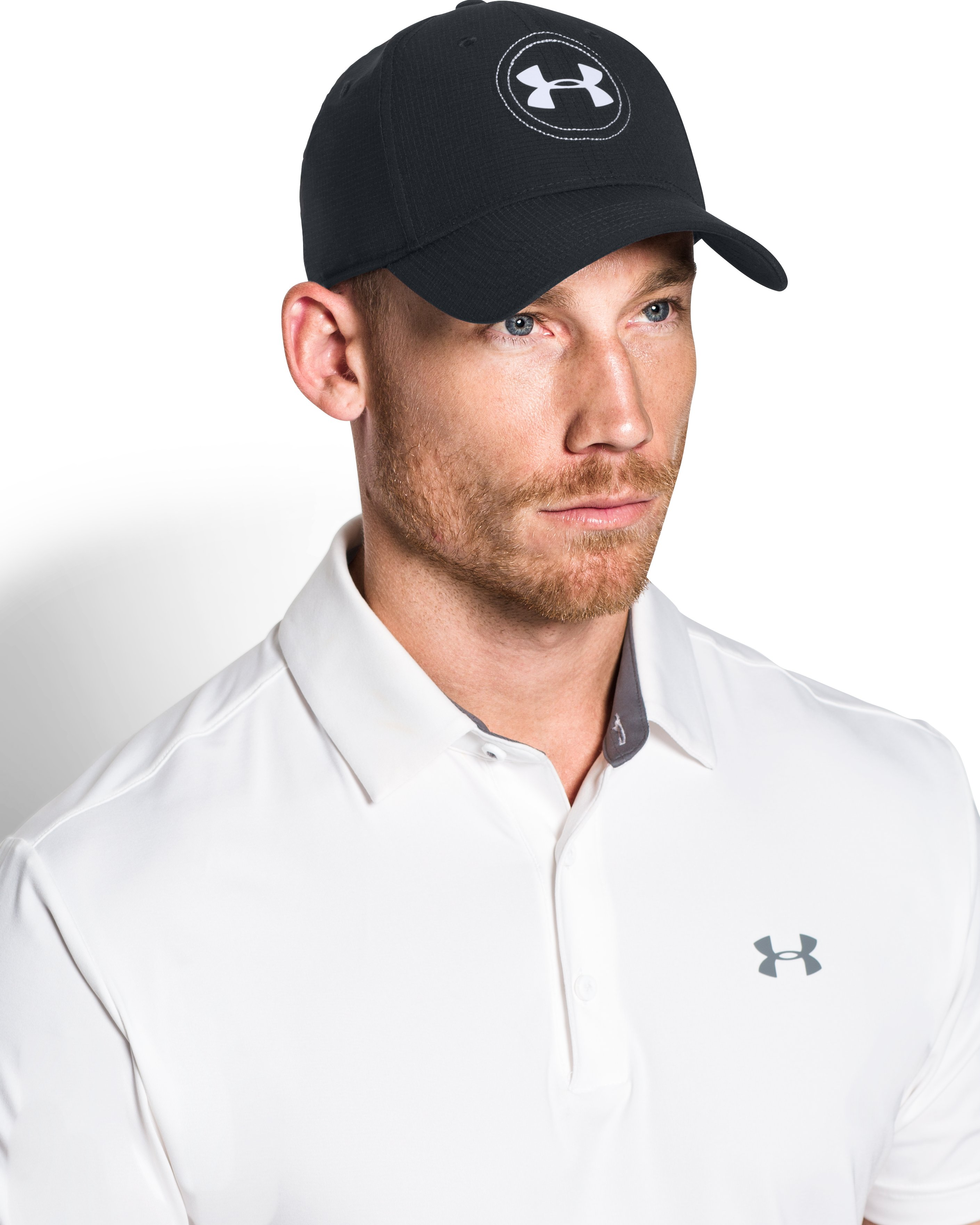 Men's Jordan Spieth UA Tour Cap, Black , undefined