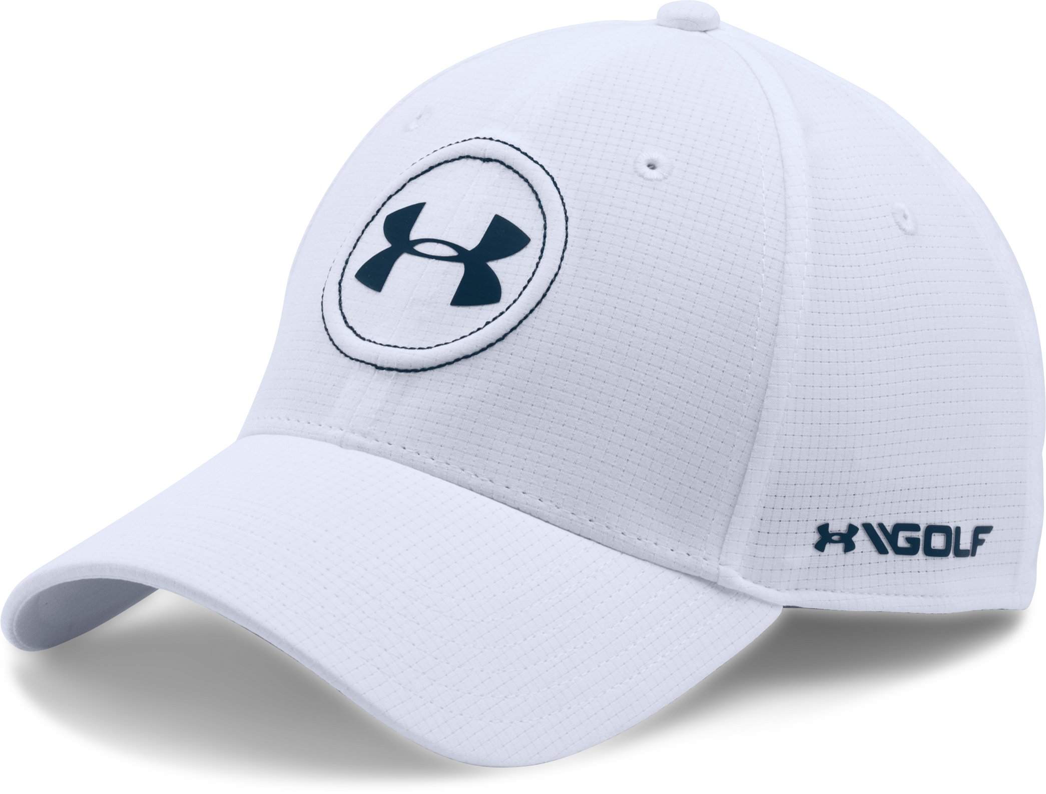 Men's Jordan Spieth UA Tour Cap, White, undefined