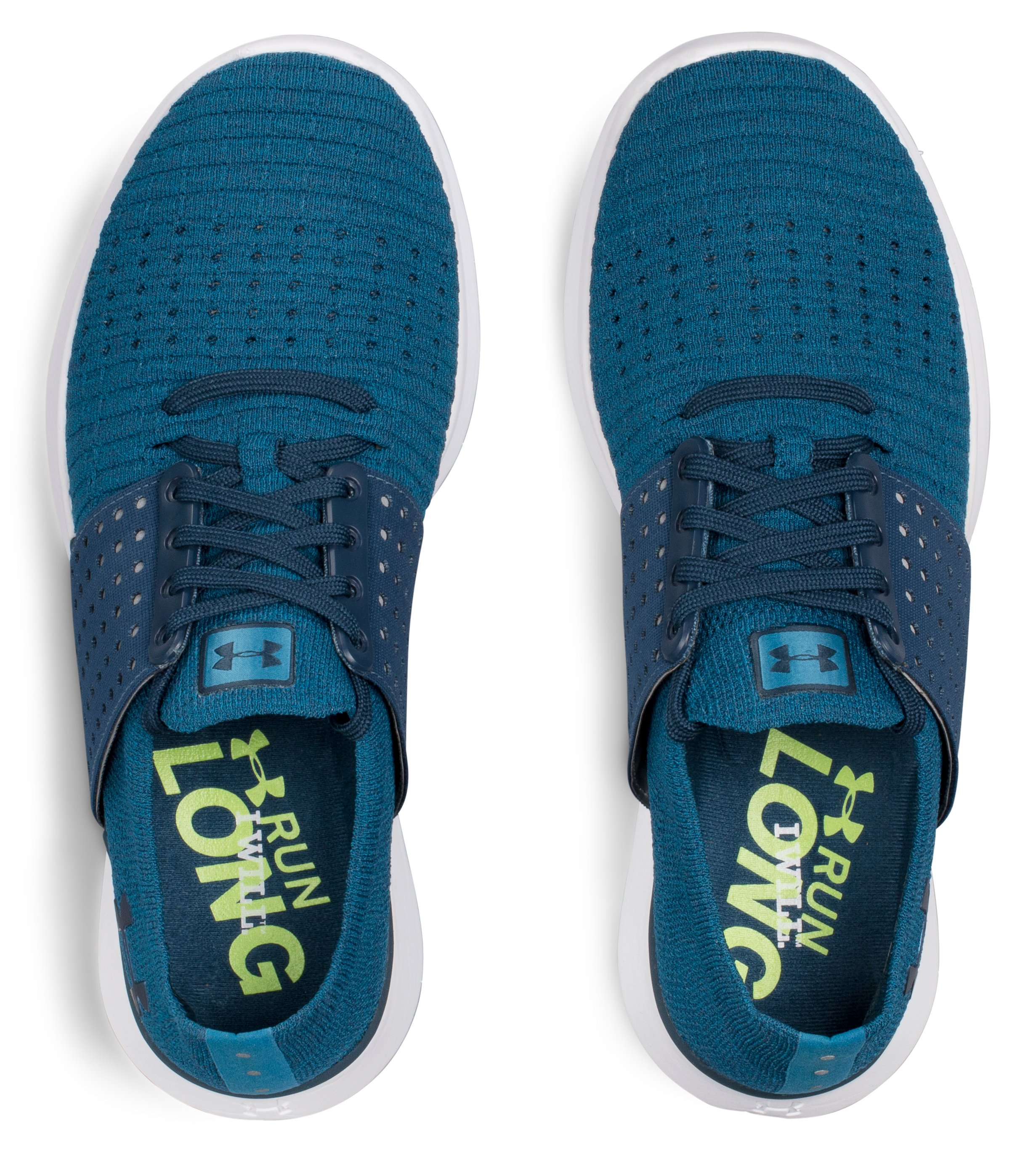 Women's UA Threadborne Slingwrap Running Shoes, BAYOU BLUE, undefined