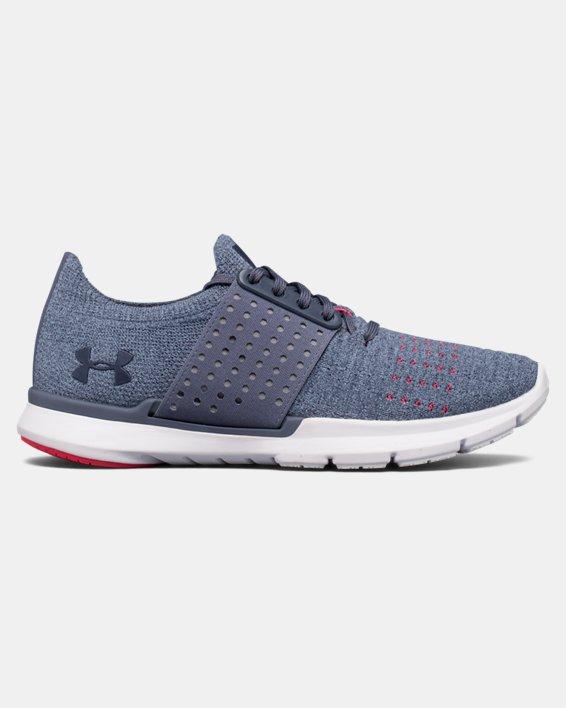 Women's UA Threadborne Slingwrap Running Shoes, Gray, pdpMainDesktop image number 0
