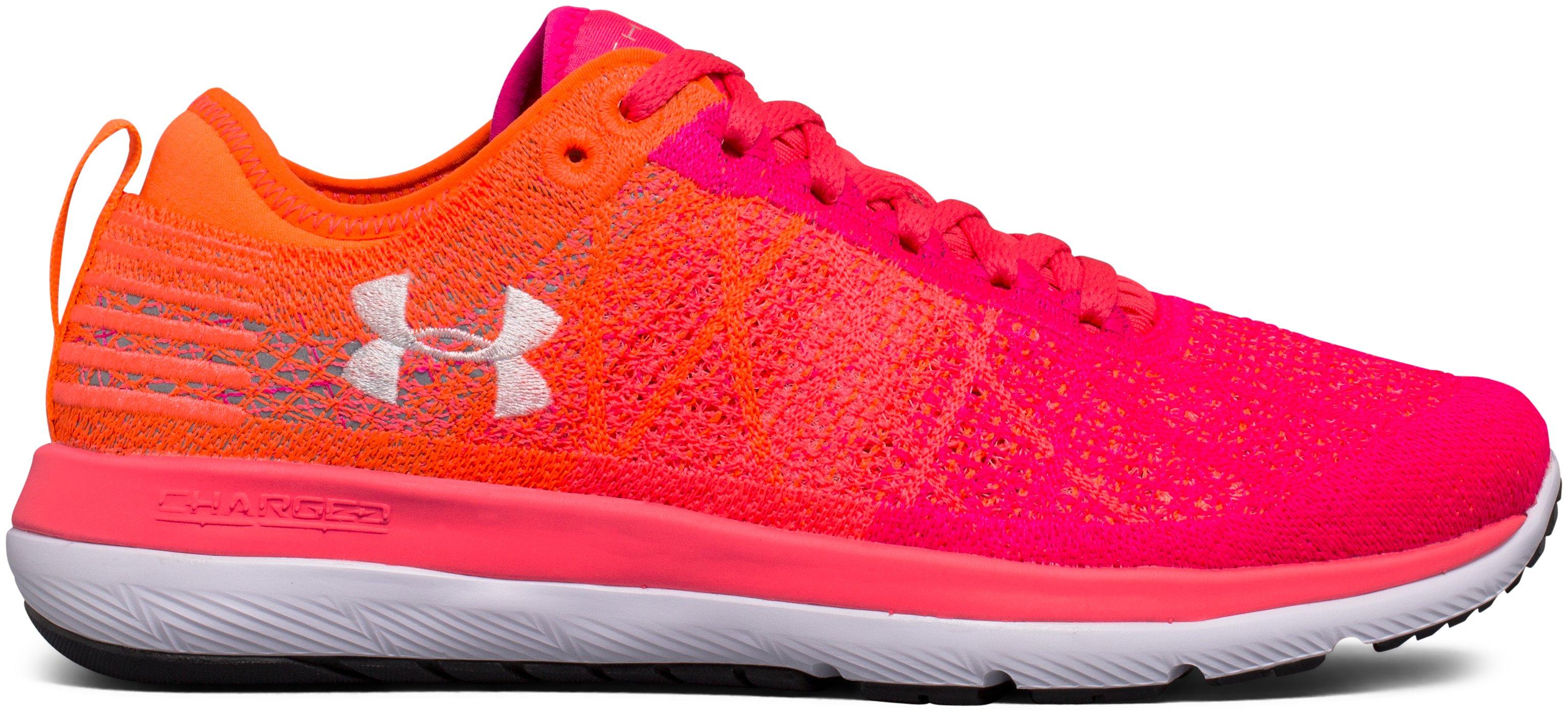 Women's UA Threadborne Fortis 3 Running Shoes, 360 degree view