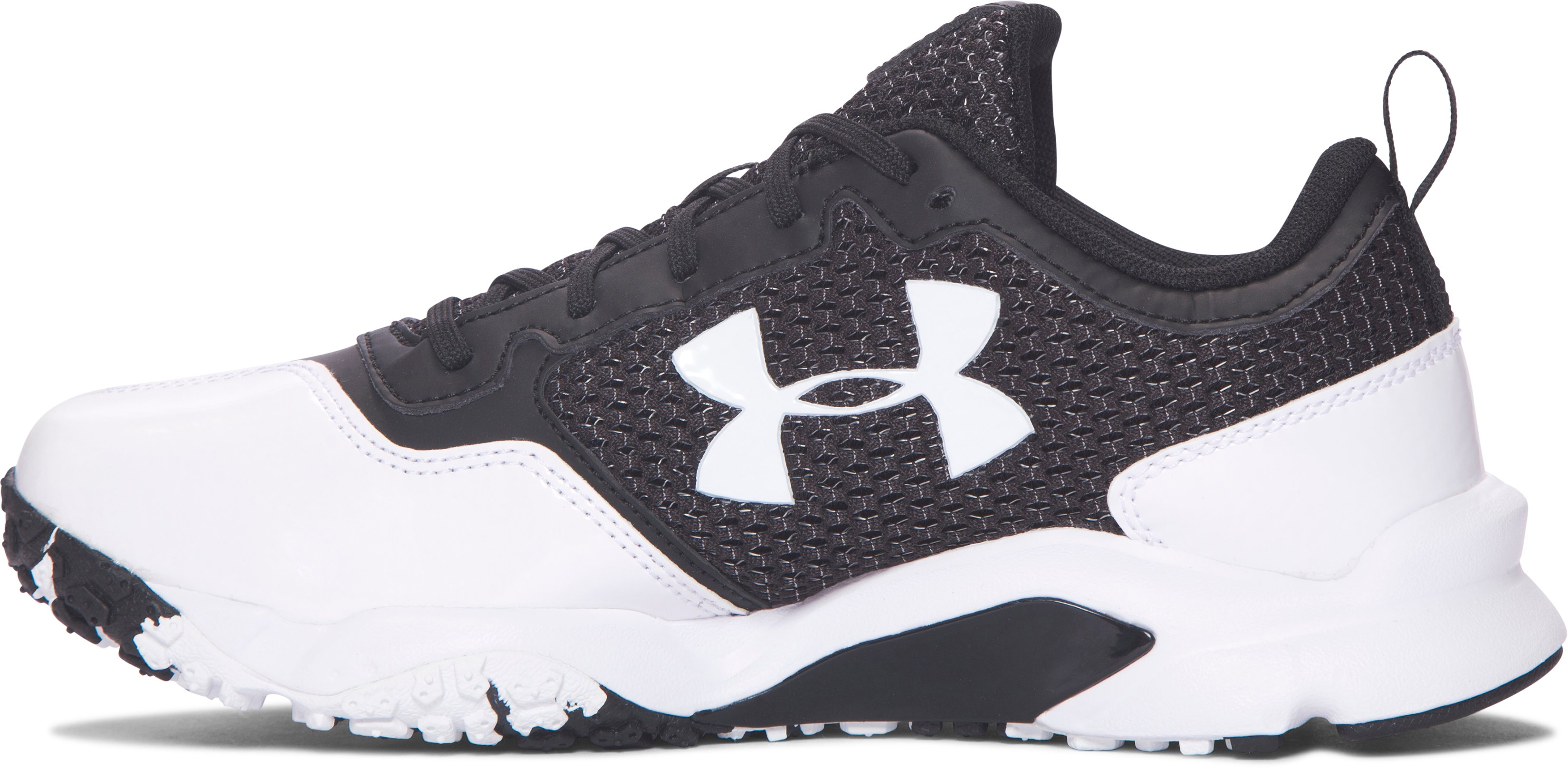 Boys' UA Ultimate Turf Training Shoes, Black ,