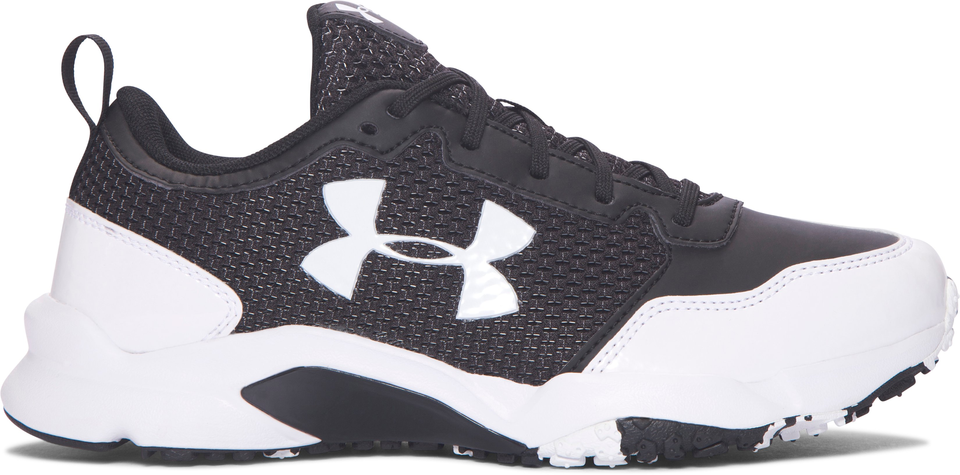 Boys' UA Ultimate Turf Training Shoes, Black
