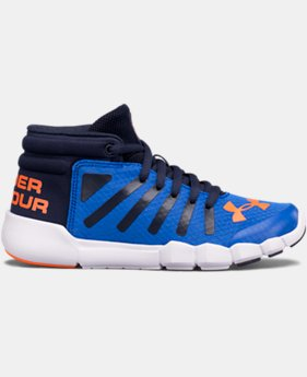 New Arrival  Boys' Pre-School UA X Level Destroyer Running Shoes  1 Color $79.99