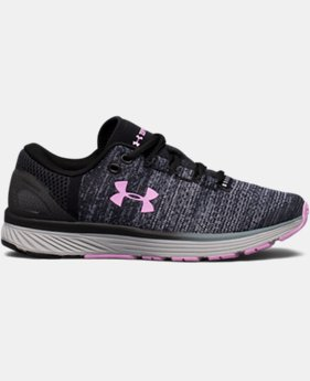 Girls' Grade School UA Charged Bandit 3 Running Shoes  3  Colors Available $74.99