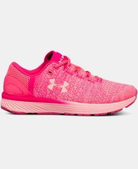 Girls' Grade School UA Charged Bandit 3 Running Shoes  1  Color Available $56.24