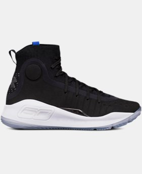 Boys' Grade School UA Curry 4 Mid Basketball Shoes  6 Colors $129.99