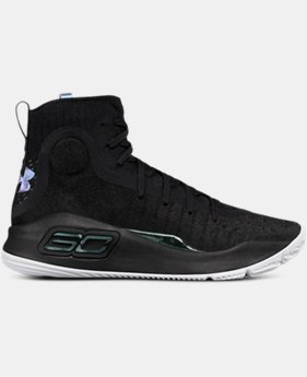Boys' Grade School UA Curry 4 Mid Basketball Shoes  5  Colors Available $109.99
