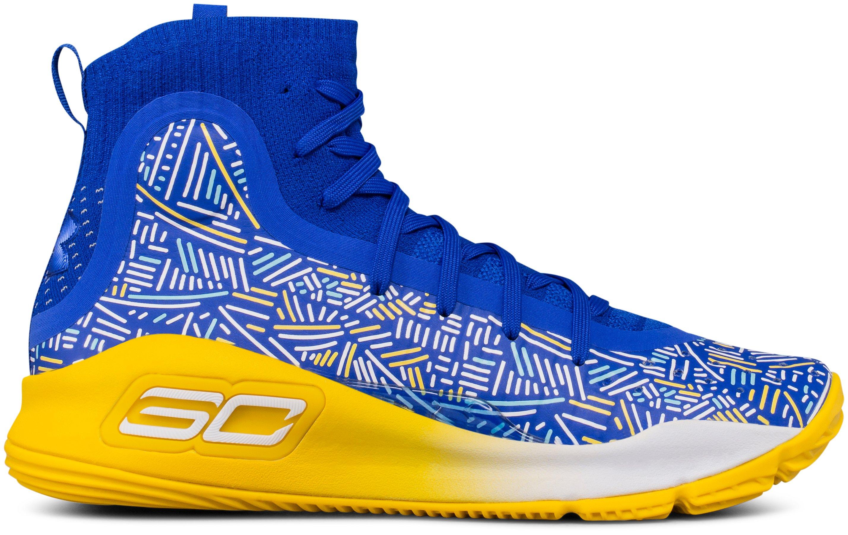 Boys' Grade School UA Curry 4 Mid Basketball Shoes | Under Armour US