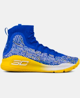 Boys' Grade School UA Curry 4 Mid Basketball Shoes  2  Colors Available $109.99