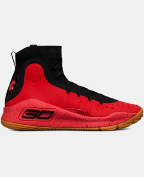 Boys' Grade School UA Curry 4 Mid Basketball Shoes  4 Colors $109.99