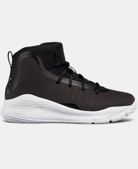Pre-School UA Curry 4 Mid Basketball Shoes  7 Colors $99.99