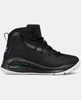 Pre-School UA Curry 4 Mid Basketball Shoes  7  Colors Available $79.99