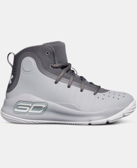 Pre-School UA Curry 4 Mid Basketball Shoes  2 Colors $79.99