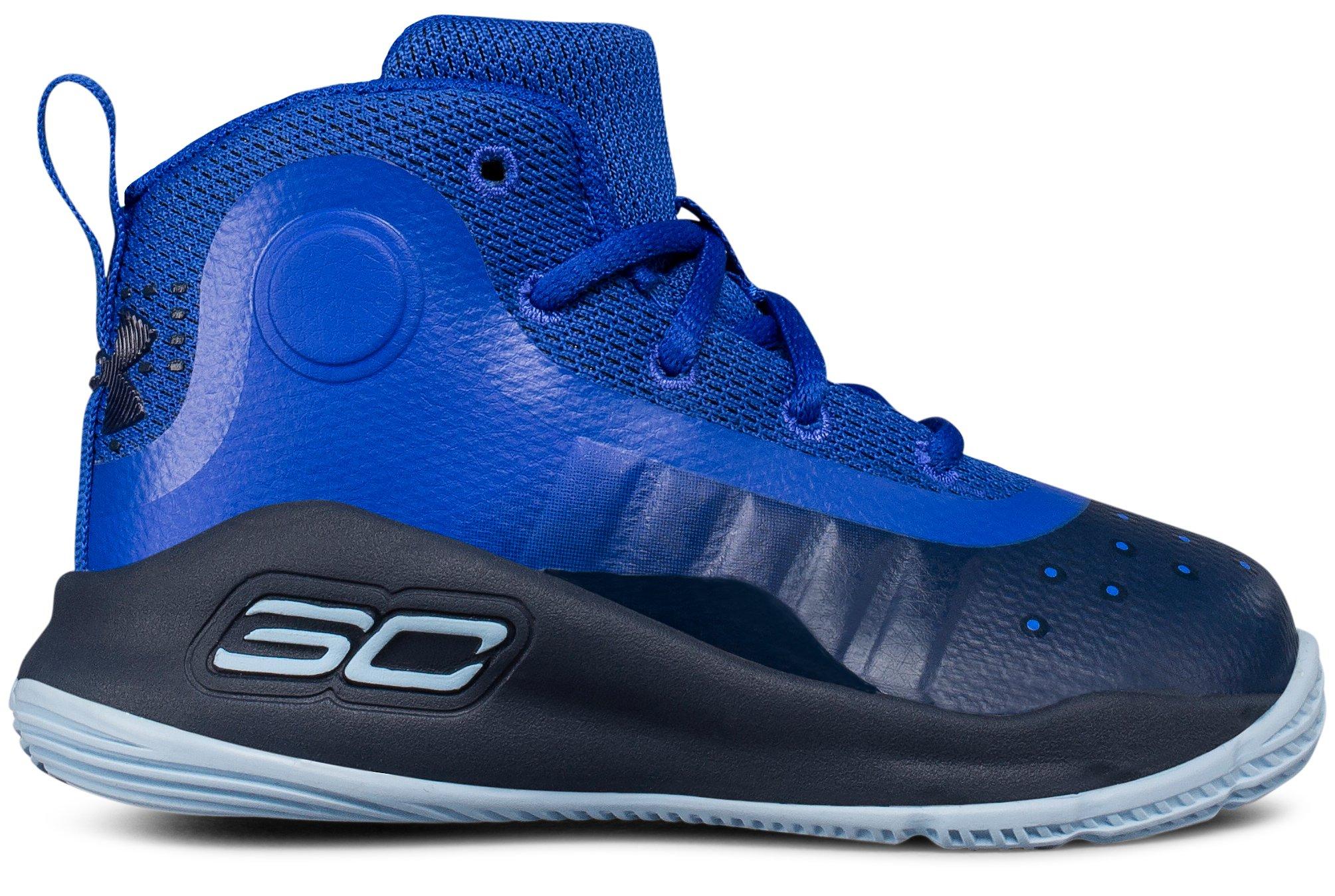 Infant UA Curry 4 Mid Basketball Shoes