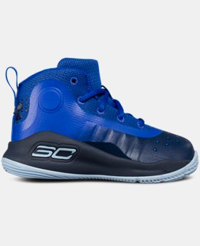 New Arrival Infant UA Curry 4 Mid Basketball Shoes  1 Color $59.99