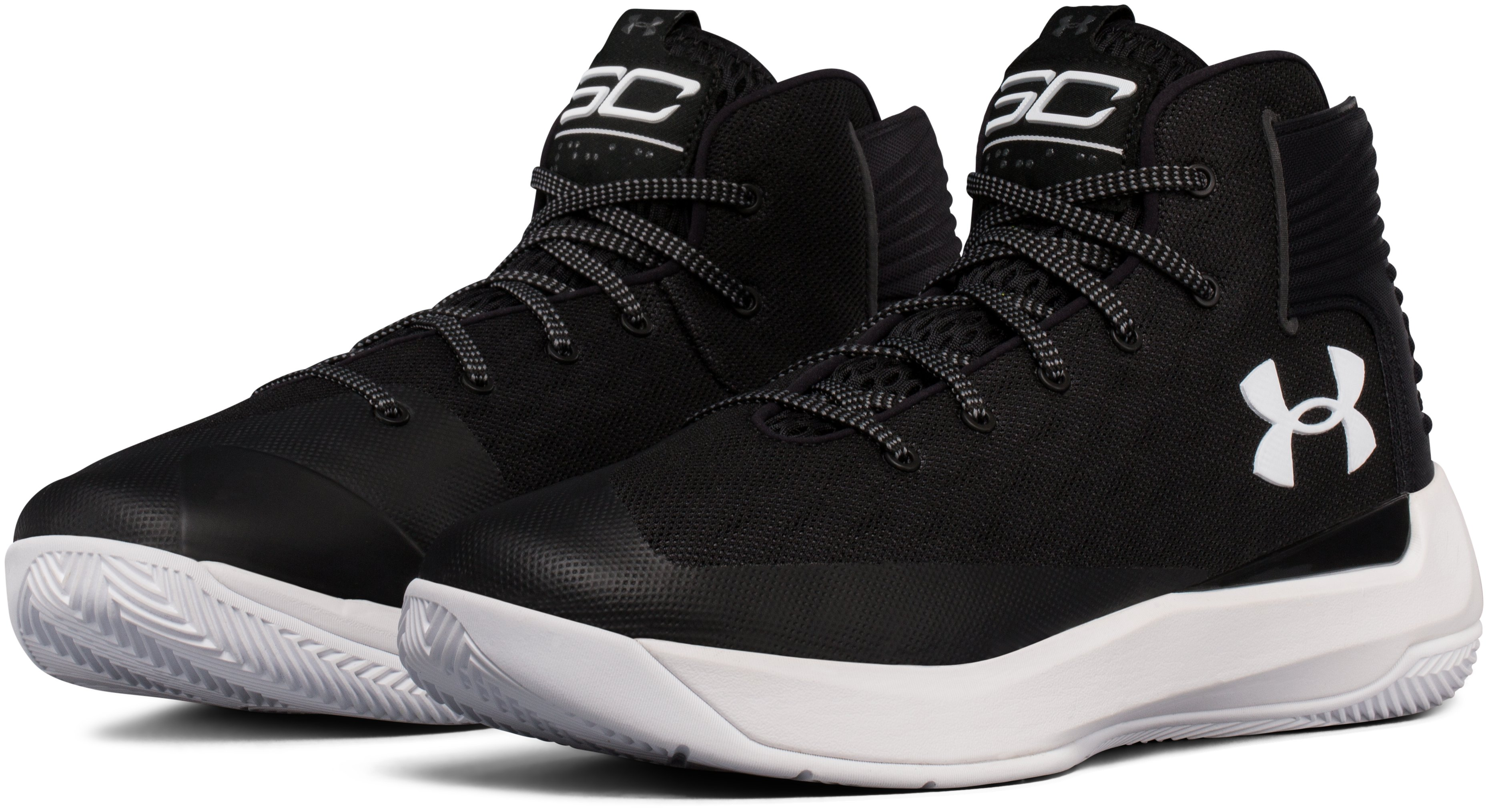Boys' Grade School UA Curry 3ZER0 Basketball Shoes, Black , undefined