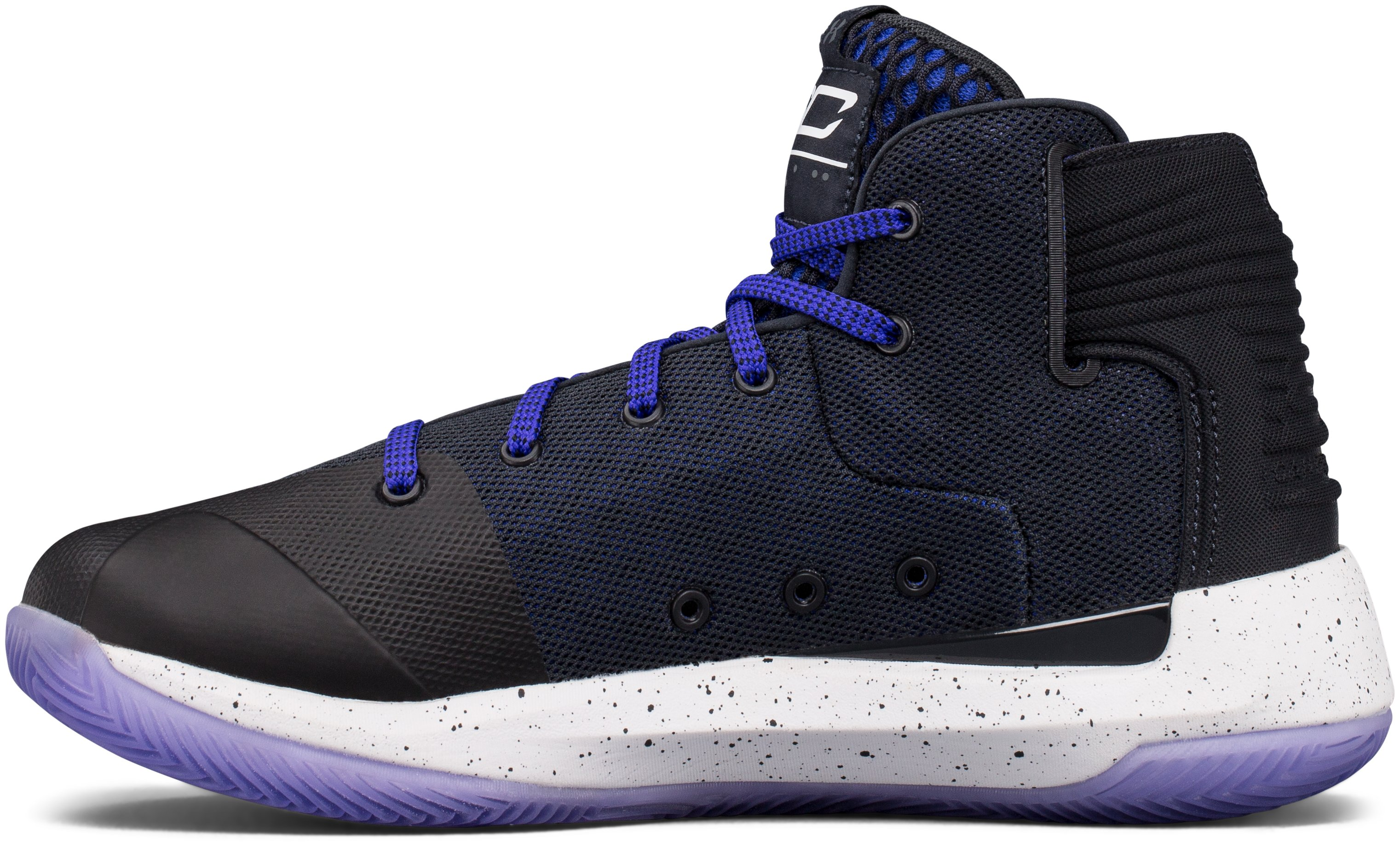 Boys' Grade School UA Curry 3ZER0 Basketball Shoes, ANTHRACITE,