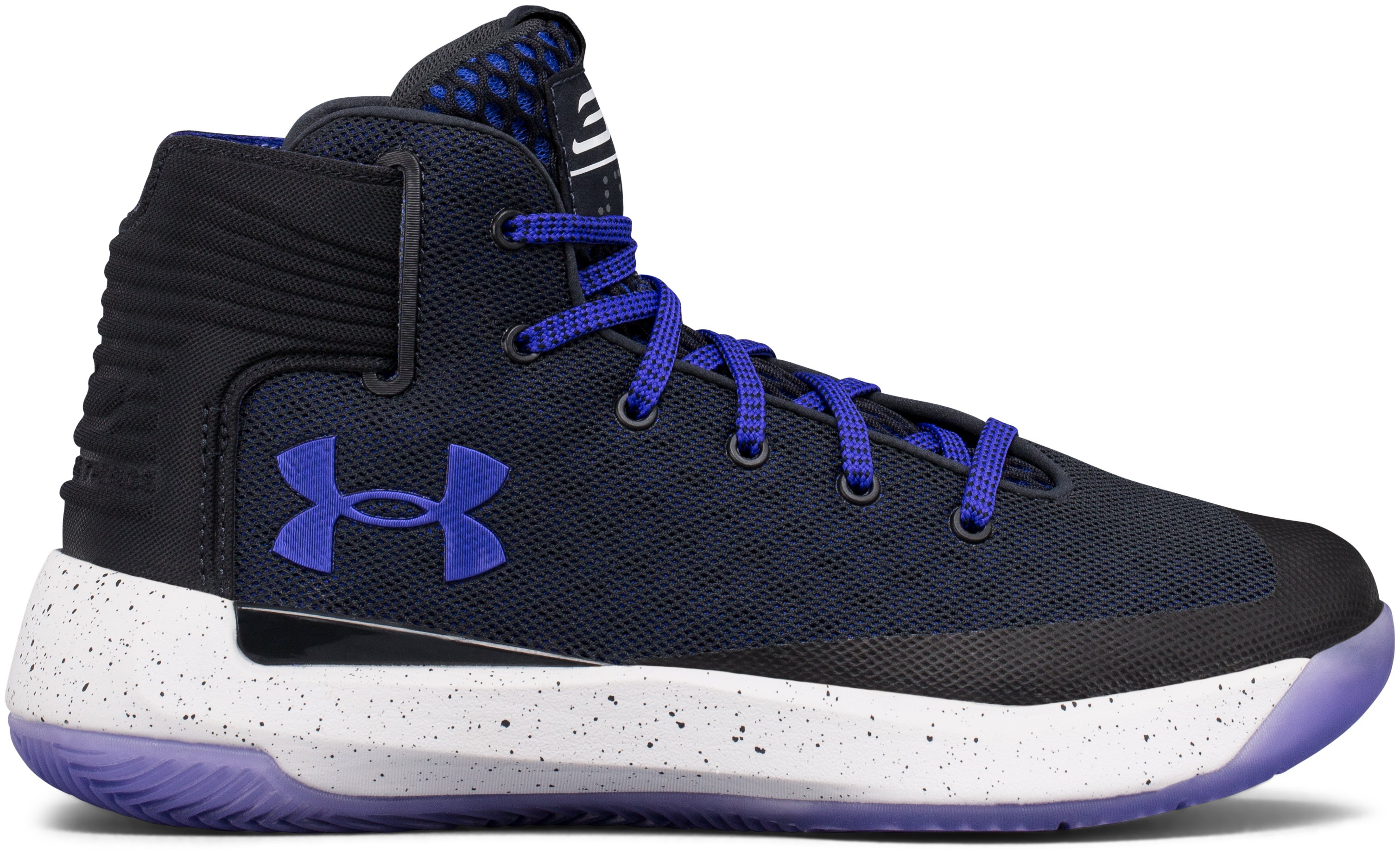 Boys' Grade School UA Curry 3ZER0 Basketball Shoes, ANTHRACITE