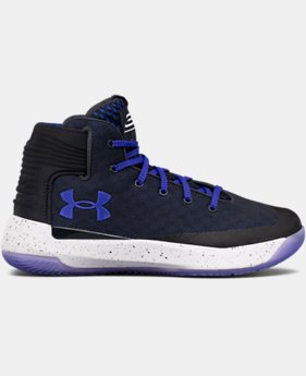Boys' Grade School UA Curry 3ZER0 Basketball Shoes   $59.99